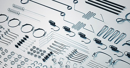 Able to Produce a Wide Variety of Springs